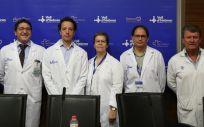 Profesionales del Hospital Vall d'Hebron