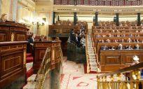 Imagen del pleno del Congreso de los Diputados, presidido por Ana Pastor.
