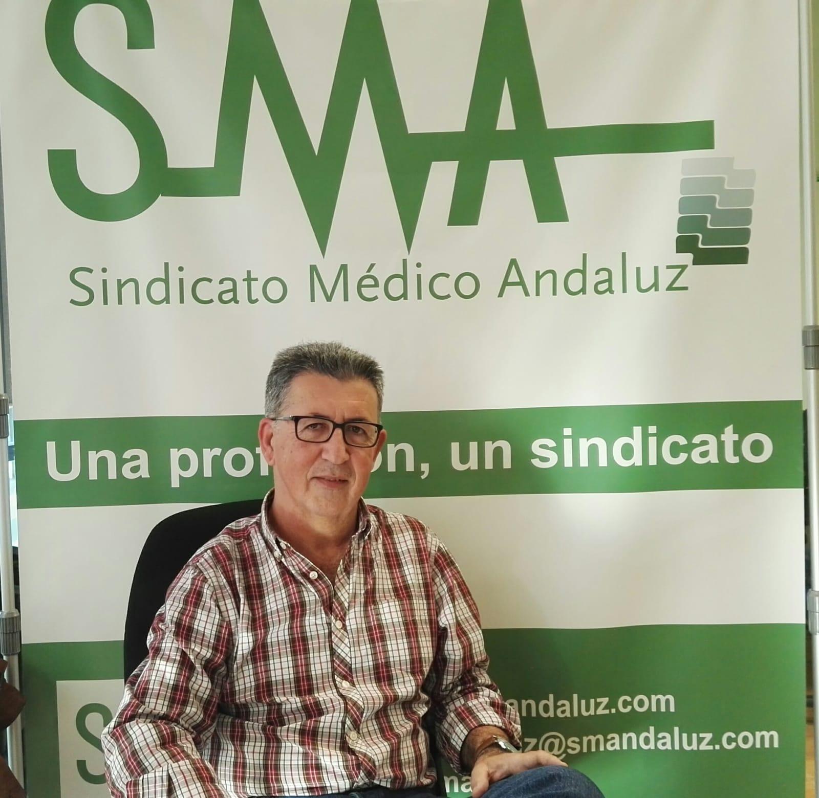 Rafael Durán Carrasco, presidente del Sindicato Médico Andaluz (SMA).
