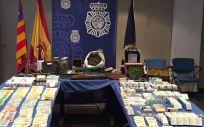 Medicamentos requisados por el Cuerpo Nacional de Policía (CNP)