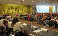 Asamblea Extraordinaria de AVITE celebrada en Madrid el 27 de diciembre de 2018 (Avite y Esther Fernández)