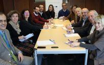 Reunión de trabajo del Centro de Investigación Biomédica de La Rioja (Cibir)
