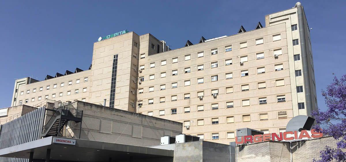 Acceso al Servicio de Urgencias del Hospital Universitario Virgen de Valme perteneciente al Servicio Andaluz de Salud (SAS)
