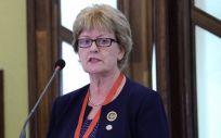 Annette Kennedy, presidenta del Consejo Internacional de Enfermería (CIE)