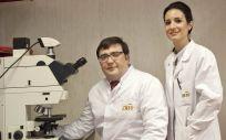 David Olmos y Elena Castro, de la Unidad de Investigación Clínica de Cáncer de Próstata del CNIO