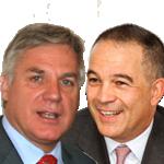 Roberto Vola-Luhrs  y Luis Truchado
