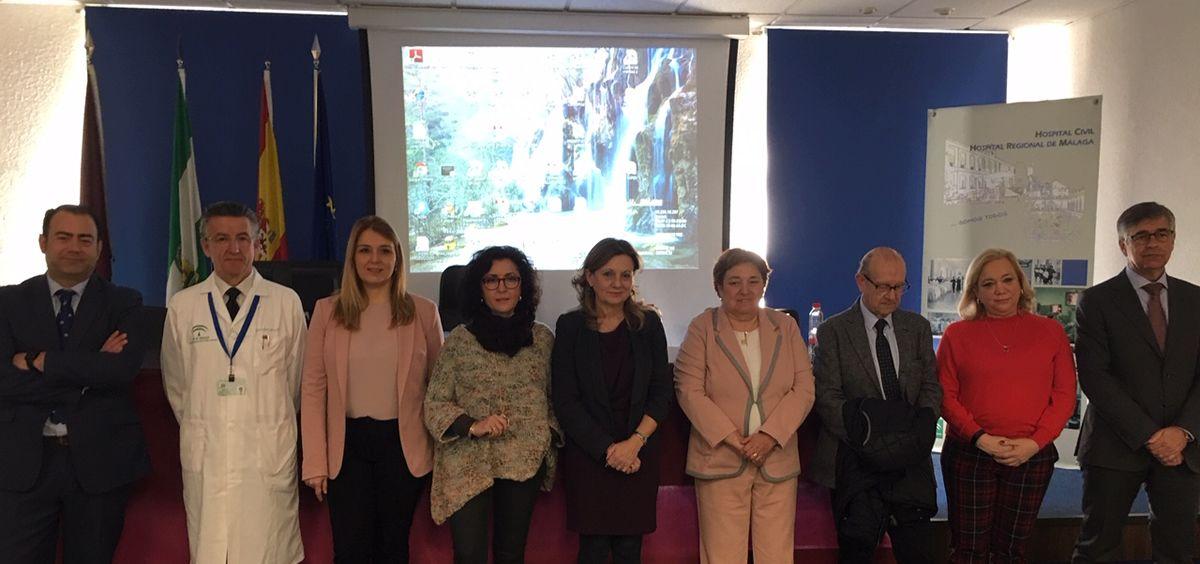 Presentación de cómo será el nuevo hospital regional de Málaga.