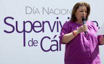 La presidenta de GEPAC, Begoña Barragán.
