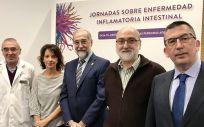 Inauguración de las jornadas sobre la Enfermedad Inflamatoria Intestinal