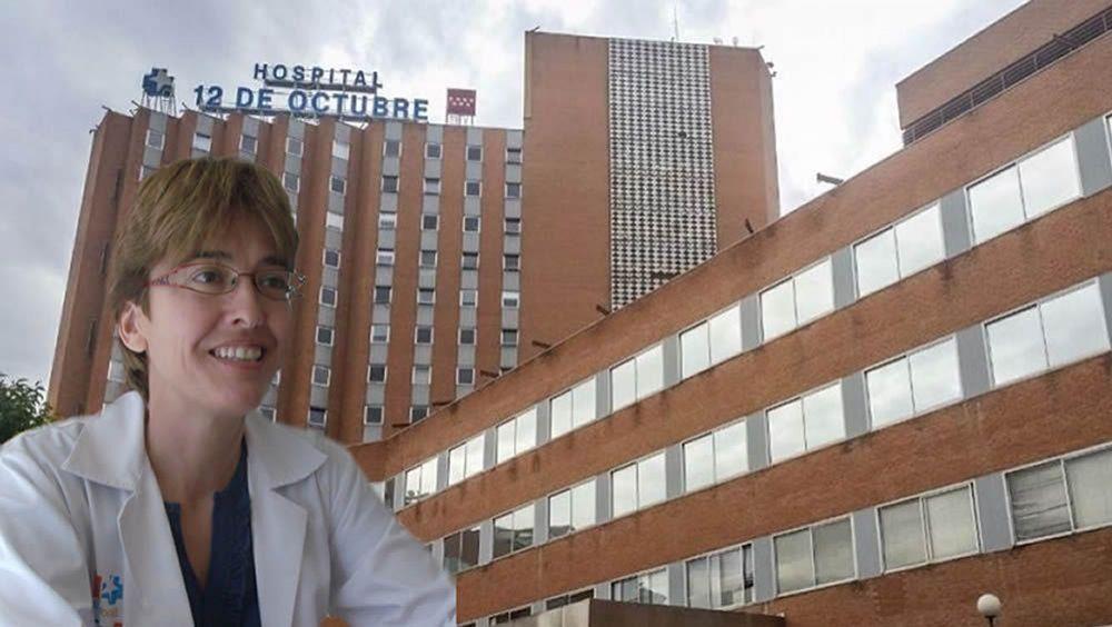 Carmen Martínez de Pancorbo, gerente del Hospital Universitario 12 de Octubre