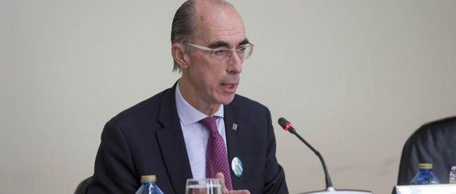 El consejero de Sanidad, Jesús Vázquez Almuiña y el presidente de la Xunta, Alberto Núñez Feijóo.