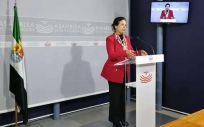 Pilar Blanco Morales, vicepresidenta y consejera de Hacienda y Administración Pública de Extremadura.