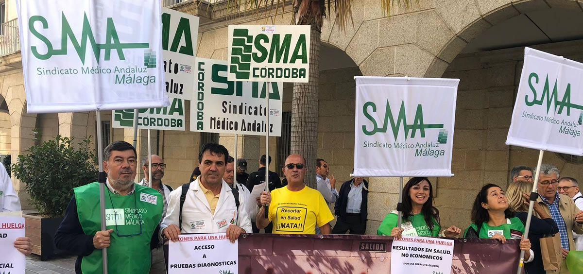 El SMA mantiene lanza sus primera peticiones al Gobierno de Juanma Moreno con el diálogo como principal demanda.