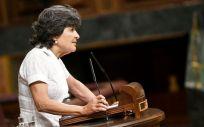 Amparo Botejara, portavoz de Sanidad de Unidos Podemos en el Congreso.