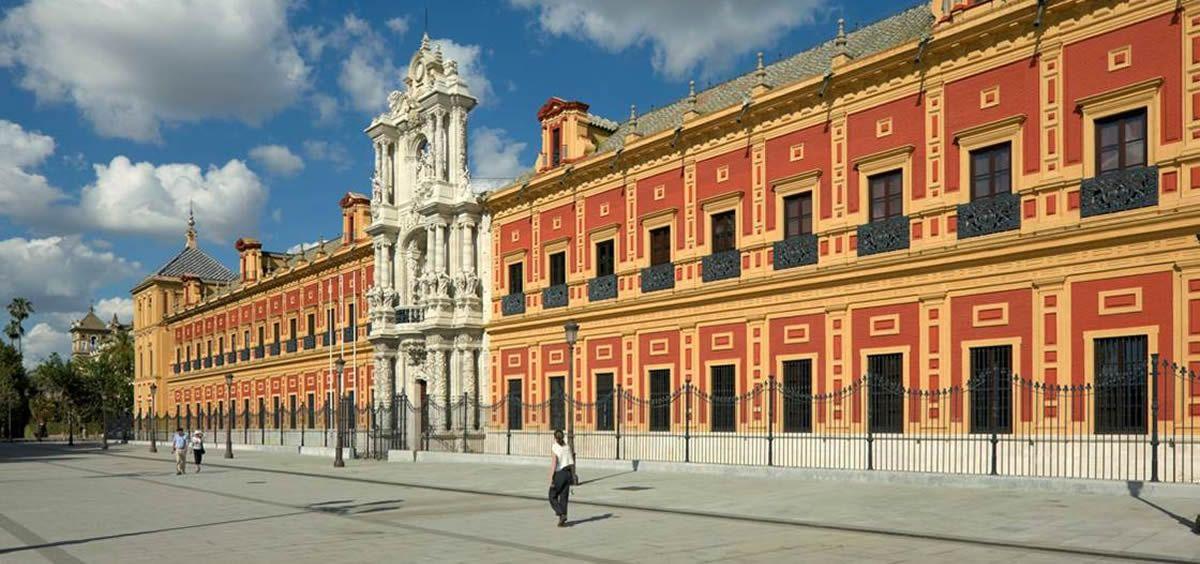 Palacio de San Telmo, sede de la Junta de Andalucía.