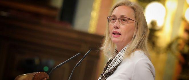 Teresa Angulo, portavoz de Sanidad del PP en el Congreso de los Diputados.