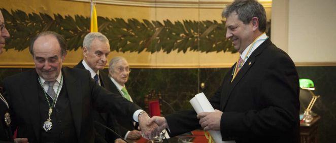 Antonio López Farré recibe el Premio RANME 2018