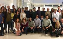 Profesionales y responsables del Servicio de Urgencias del Hospital Virgen de la Victoria de Málaga