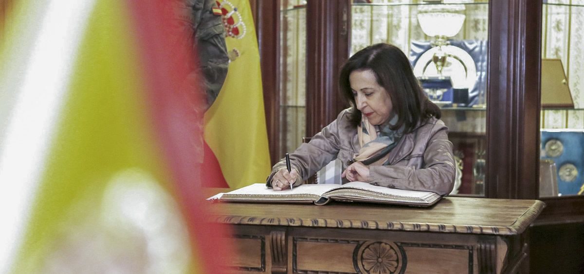 Margarita Robles, ministra de Defensa | Foto: Ministerio de Defensa