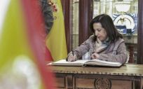 Margarita Robles, ministra de Defensa   Foto: Ministerio de Defensa