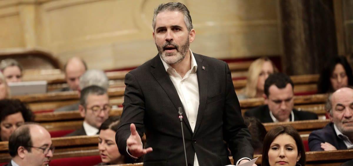 Jorge Soler, portavoz de Sanidad de Ciudadanos en el Parlamento de Cataluña (Foto: @Ciutadans)