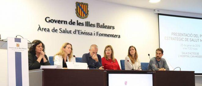 La consejera de Salud de Baleares, Patricia Gómez, ha anunciado la apertura de un hospital de día de patología dual en Ibiza