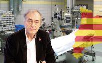 Médicos de Cataluña y las patronales de la sanidad concertada inician las negociaciones para evitar la huelga de facultativos. En la imagen, Josep María Puig, secretario general de Metges de Catalunya