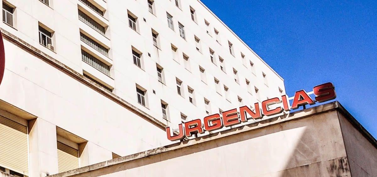 Acceso al Servicio de Urgencias de un hospital de Andalucía