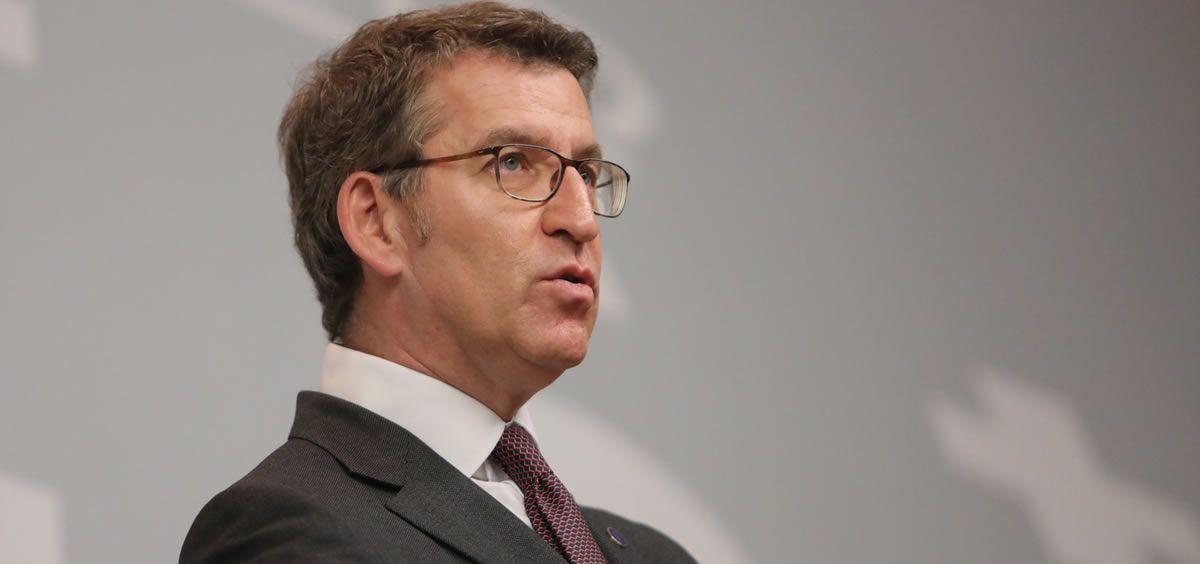 El presidente del Gobierno gallego, Alberto Núñez Feijóo.