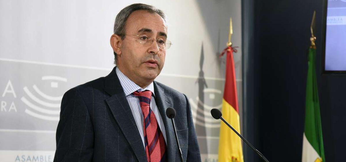 Federico Delgado, director general de Planificación Económica del Servicio Extremeño de Salud.