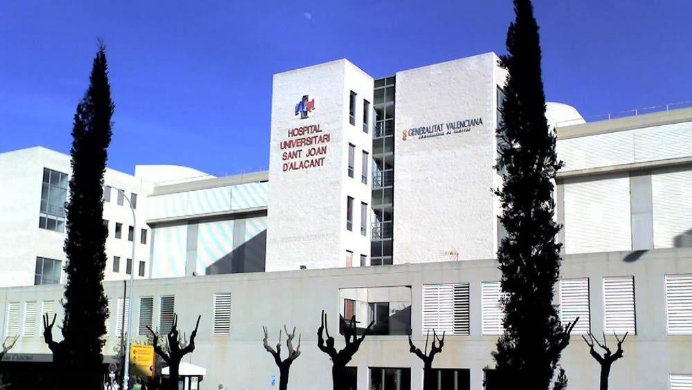 Fachada del Hospital Universitario de San Juan de Alicante