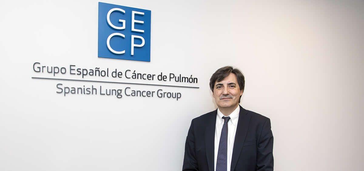 Mariano Provencio Pulla, presidente del Grupo Español de Cáncer de Pulmón (GECP) y jefe de Oncología del Hospital Puerta de Hierro (Majadahonda).