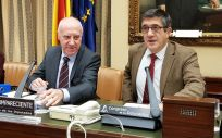 Faustino Blanco, secretario General de Sanidad y Consumo, asiste a la Comisión de Sanidad del Congreso de los Diputados.