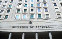 Fachada exterior del Ministerio de Defensa