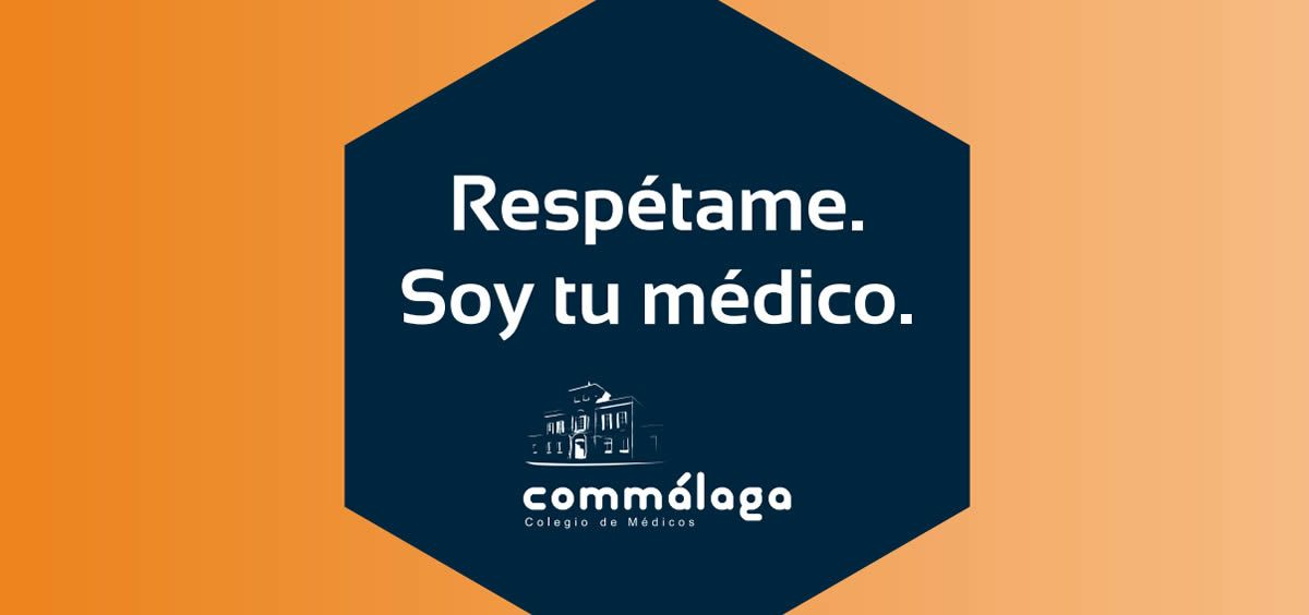 El Colegio de Médicos de Málaga ha impulsado la guía 'Respétame. Soy tu médico'