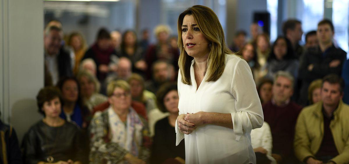 Susana Díaz, ex presidenta de la Junta de Andalucía.