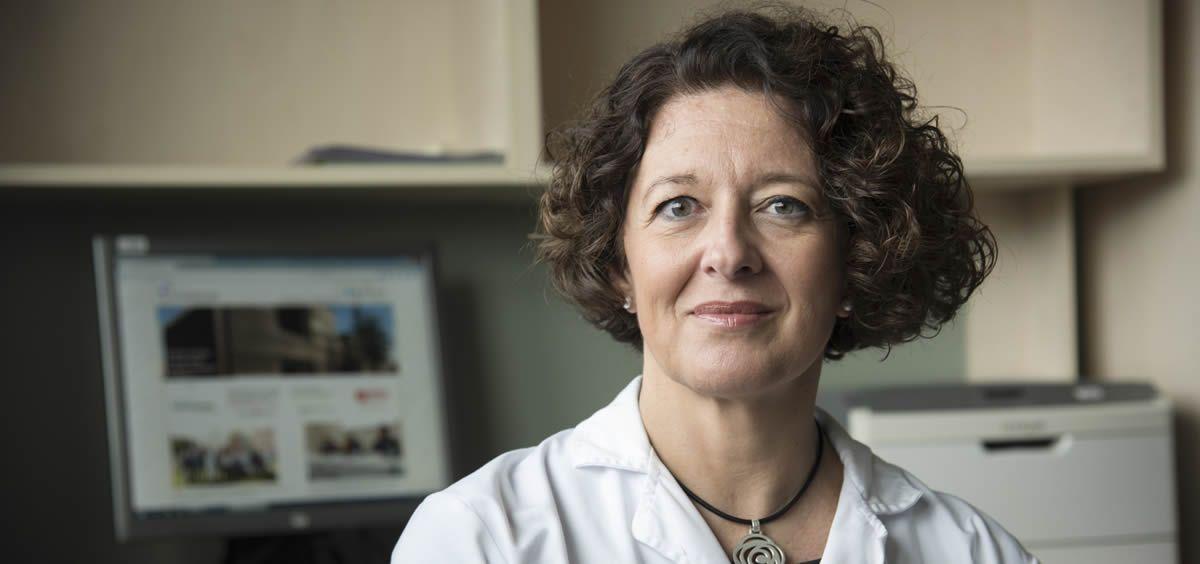 La doctora Ruth Vera, presidenta de la Sociedad Española de Oncología Médica (SEOM)