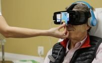 Gafas de realidad virtual ofrecidas utilizadas por IOB Institute of Oncology – Hospital Quirónsalud Barcelona