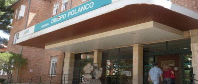 Fachada exterior del hospital público Obispo Polanco de Teruel
