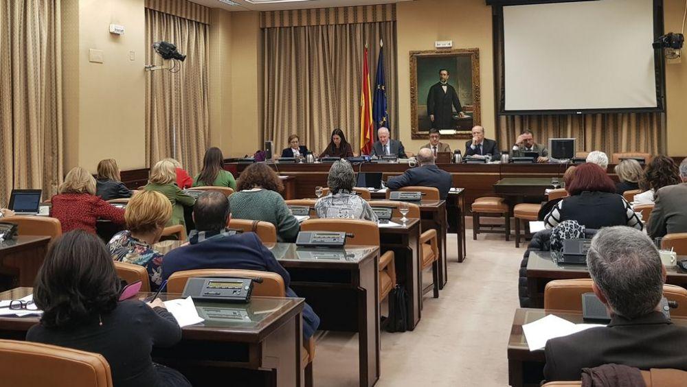 Reunión pasada de la Comisión de Sanidad del Congreso de los Diputados.