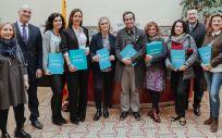 Reunión de las representantes de las enfermeras estomaterapeutas con el doctor Marc Ramentol