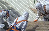 Cerca de tres millones de toneladas de amianto hay instaladas en España