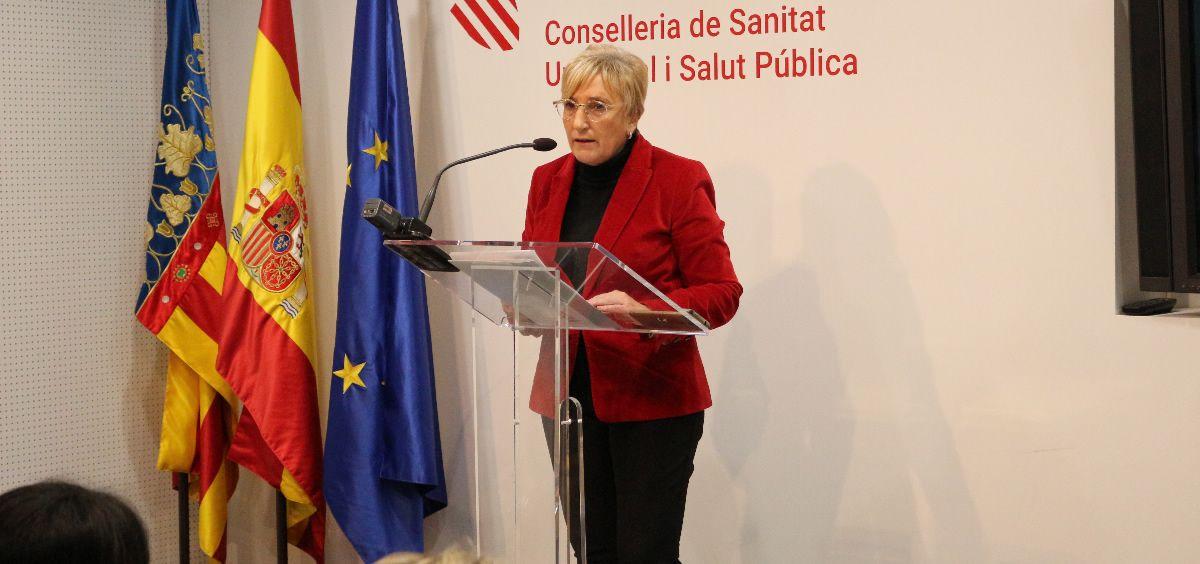 Ana Barceló, consejera de Sanidad de la Comunidad Valenciana