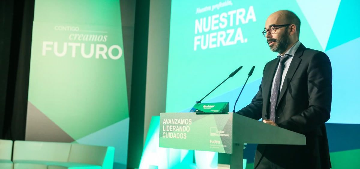 El director general de Recursos Humanos del Sescam, Iñigo Cortázar