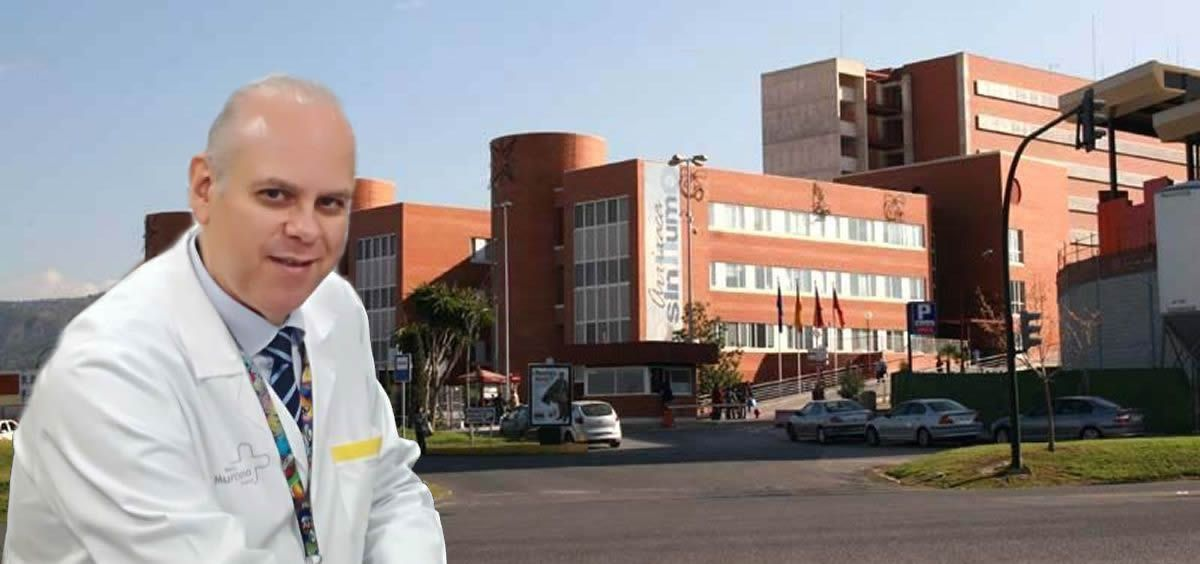 Ángel Baeza Alcaraz, gerente del Hospital Universitario Virgen de la Arrixaca de Murcia