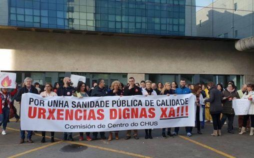 El sector sanitario reduce sus hostilidades en Galicia tras un intenso año de movilizaciones