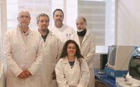 Investigadores del grupo 'Hematología y Hemoterapia' de Ibima