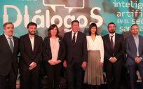 Inauguración de IDIálogoS, un foro en el que se ha analizado el rol de la inteligencia artificial en el sector sanitario
