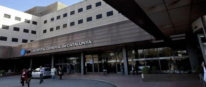 Fachada exterior del Hospital Universitari General de Catalunya