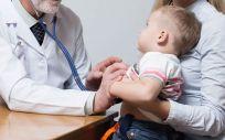 Paciente pediátrico en consulta